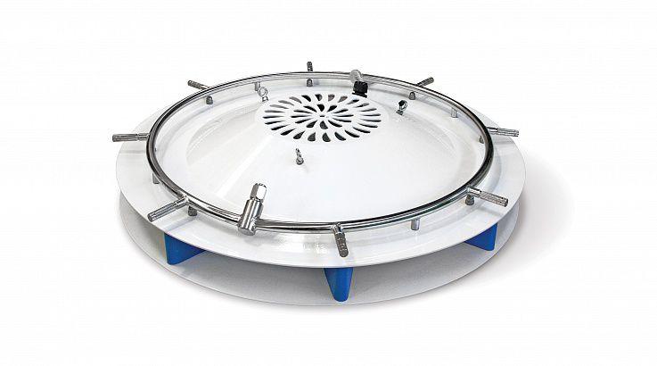 Радиальный вентилятор EuroJet с кольцом на 8 форсунок